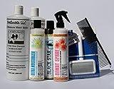 Black Toy Poodle Coat Care Grooming Kit FREE BONUS