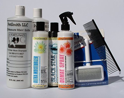 Kelco Miniature Schnauzer Coat Care Grooming Kit Free Bonus