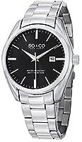 SO&CO New York Men's 5101.2 Madison Analog Display Quartz Silver Watch by SO&CO MFG