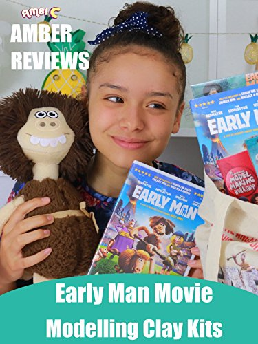 Amber Reviews Early Man Movie Modelling Clay Kits