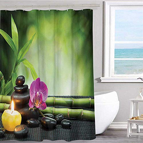 Waterproof Polyester Shower Curtain 36