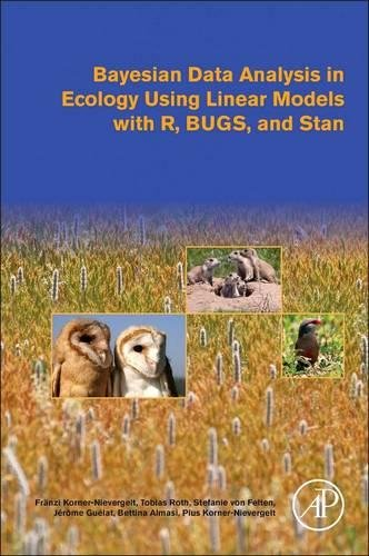 Bayesian Data Analysis in Ecology Using Linear Models with R, BUGS, and Stan by imusti