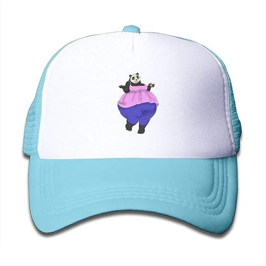 Image Unavailable. Image not available for. Color  Mesh Baseball Cap  Snapback Hats A Fat Panda ... 27edd22da04b