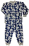 Snoozers 100% Cotton Flannel Pajamas by Timeke (7/8-up to 8yrs, Blue Soccer)