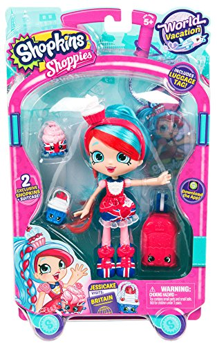 Shopkins World Vacation (Europe) Shoppies Doll - Jessicake