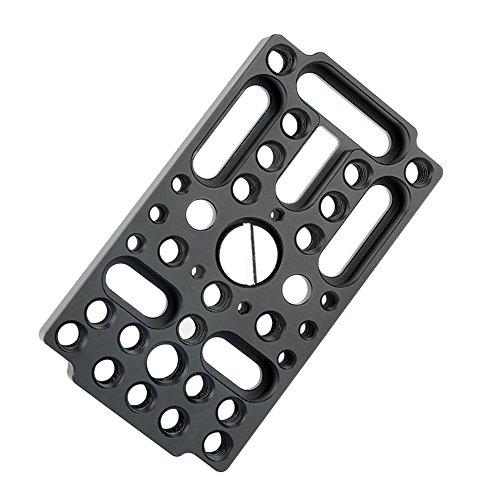 NICEYRIG Switching Plate Camera Cheese Easy Plate Applicable Railblocks, Dovetails, Short Rods