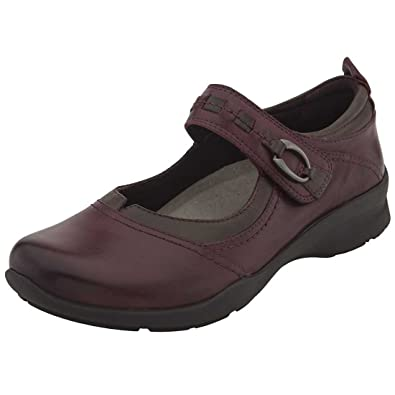 125bf7dc7d862 Earth Womens Garnet Leather Almond Toe Ankle Strap Mules