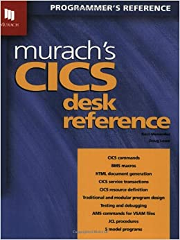 Murach's CICS Desk Reference, 592 Pages 3rd Revised edition Edition price comparison at Flipkart, Amazon, Crossword, Uread, Bookadda, Landmark, Homeshop18
