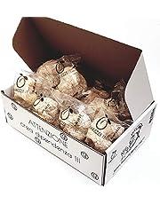 Siciliaanse amandel petit fours in cadeaudoos (400gr). RAREZZE: typisch Siciliaanse producten, cannoli, amandelspijs, cassate, van AMBACHTELIJK Siciliaanse banketbakkerij.