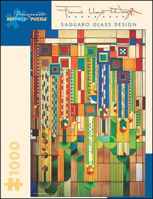 Saguaro Glass (Frank Lloyd Wright( Saguaro Glass Design)[PUZZLE-FRANK LLOYD WRIGHT SAGU][Other])