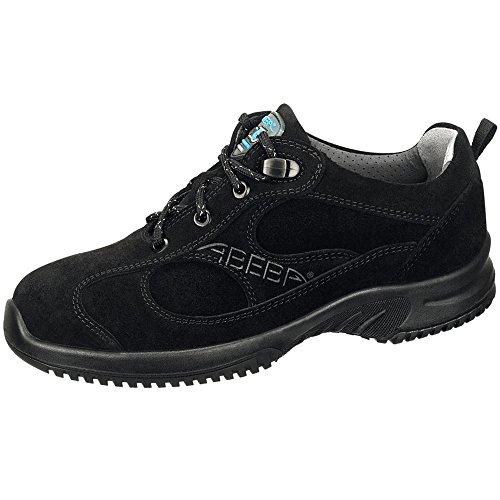 Abeba 1711-45 Uni6 Chaussures de sécurité bas Taille 45 Noir