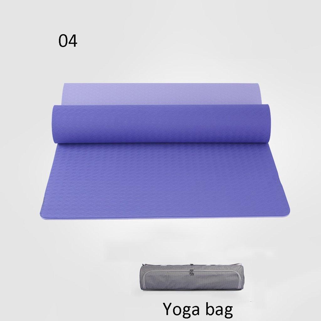 D Xinsushp Home Tapis de Yoga Tapis d'exercice Anti-dérapant pour Tapis de Yoga (Couleur   B, Taille   6mm) 6mm