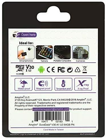 Amplim 64 Gb Micro Sd Karte Plus Adapter Pack 64 Gb Computer Zubehör