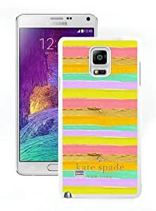 Note 4 case,Kate Spade 111 White Samsung Galaxy Note 4 cover