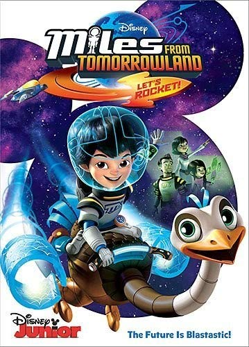 Miles from Tomorrowland: Let's Rocket! DVD -