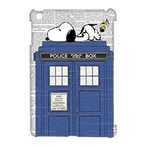 DiyCaseStore Snoopy Lie the Tardis Police Box Ipad Mini Best Durable Cover Case Christmas Gift Idea by runtopwell