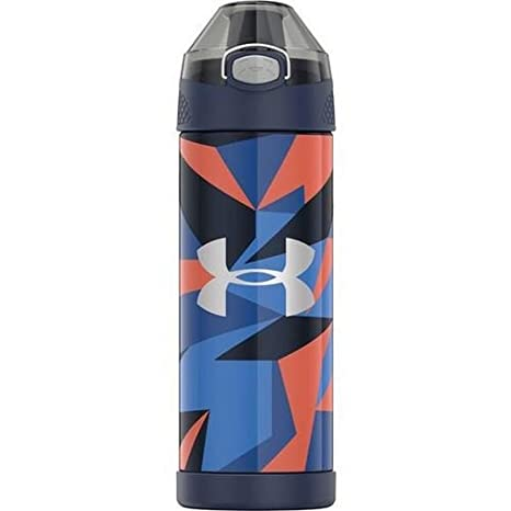 dd8b4b46 Under Armour Beyond 16 Ounce Vacuum Insulated Stainless Steel Bottle, Geo  Cache Black