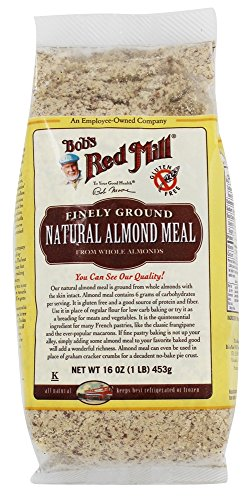 Bob's Red Mill - Gluten Free Finely Ground Almond Natural Meal - 1 lb