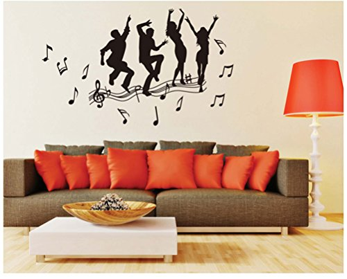 awesomemall-beat-the-melody-removable-art-mural-vinyl-sticker-wall-art-decal-wallpaper-wall-stickers