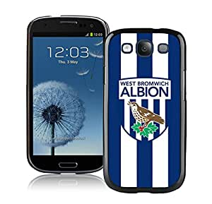 Fashion And Antiskid Cover Case For Samsung Galaxy S3 I9300 With West Bromwich Albion Black Phone Case 1