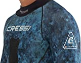 Cressi Blue Hunter 2.5mm Wetsuit, camo blue, L