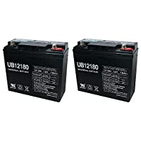 UB12180 12V 18AH Internal Thread Battery for Westward Jump Starter - 2 Pack