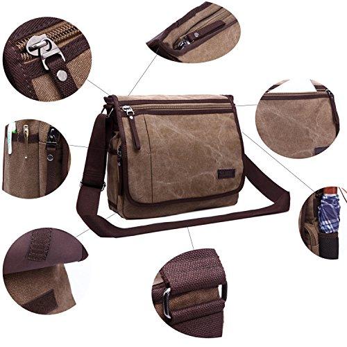 Super uomini computer a Bookbag e borsa blu bauletto per Blue bag tela donne borsa borsa School Black messenger moderno portatile tracolla bag Aaraw