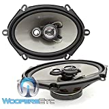 Soundstream AF.573 Arachnid Series 5″x7″ 3-Way Speaker, 120w RMS, 4-ohm