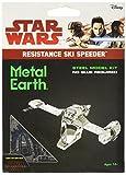 #7: Fascinations Metal Earth Star Wars The Last Jedi Resistance Ski Speeder 3D Metal Model Kit