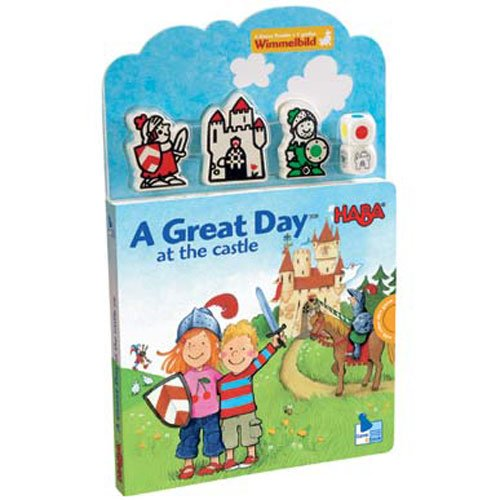 Haba Books A Great Day at the Castle Play Book with Puzzle ENGLISH VERSION - Haba Puzzle Book