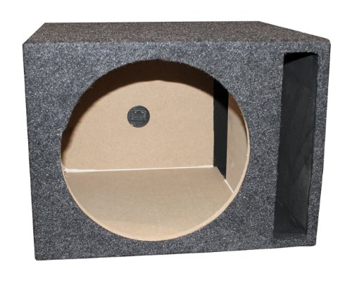 Q Power Single 12-Inch Vented Unloaded - Box Unloaded Subwoofer