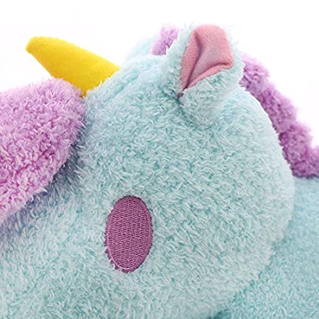 XMinilife(TM Almohada de Unicornio algodón Candy Almohada ...