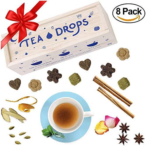 Tea Drops Instant Organic Pressed Teas - Medium Herbal Tea...