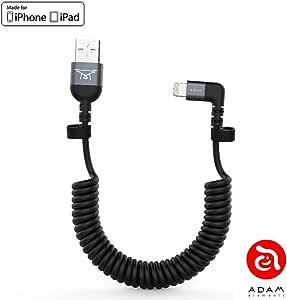 ADAM elements Cable Peak II USB C a USB, para dji Remote Controller Mavic/Spark/Phantom, para Smartphone y Tableta, 30 cm de Largo, de Nailon y Aluminio, con ángulo de 90°: Amazon.es: Electrónica