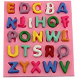 """Anyana """"A-Z"""" 26 English Letters Alphabet Silicone Fondant Mold Cake Decorating Pastry Gum Pastry Tool Kitchen Tool Sugar Paste Baking Mould Cookie Pastry"""