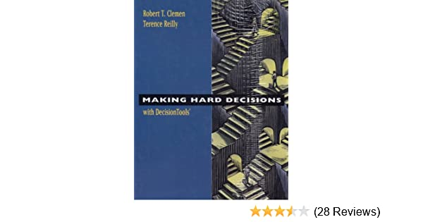 Amazon making hard decisions with decision tools suite update amazon making hard decisions with decision tools suite update edition 9780495015086 robert t clemen terence reilly books fandeluxe Choice Image