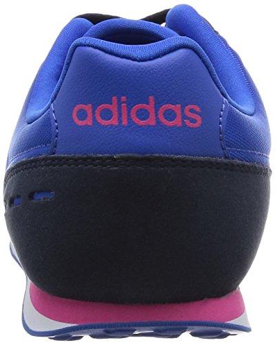 adidas City Racer W, Zapatillas de Deporte para Mujer Azul / Rosa / Negro (Azul / Rosimp / Maruni)