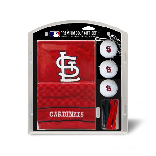 MLB St. Louis Cardinals Embroidered Towel Gift Set, Navy (Cardinals Embroidered Towel)