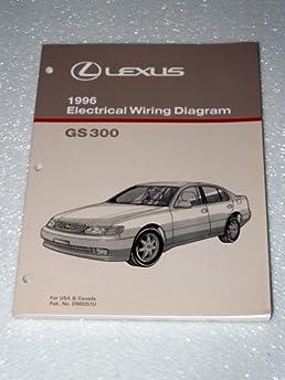 1996 lexus gs300 electrical wiring diagrams toyota motor 2002 Lexus Engine Diagram 1996 lexus gs300 electrical wiring diagrams paperback \u2013 1995