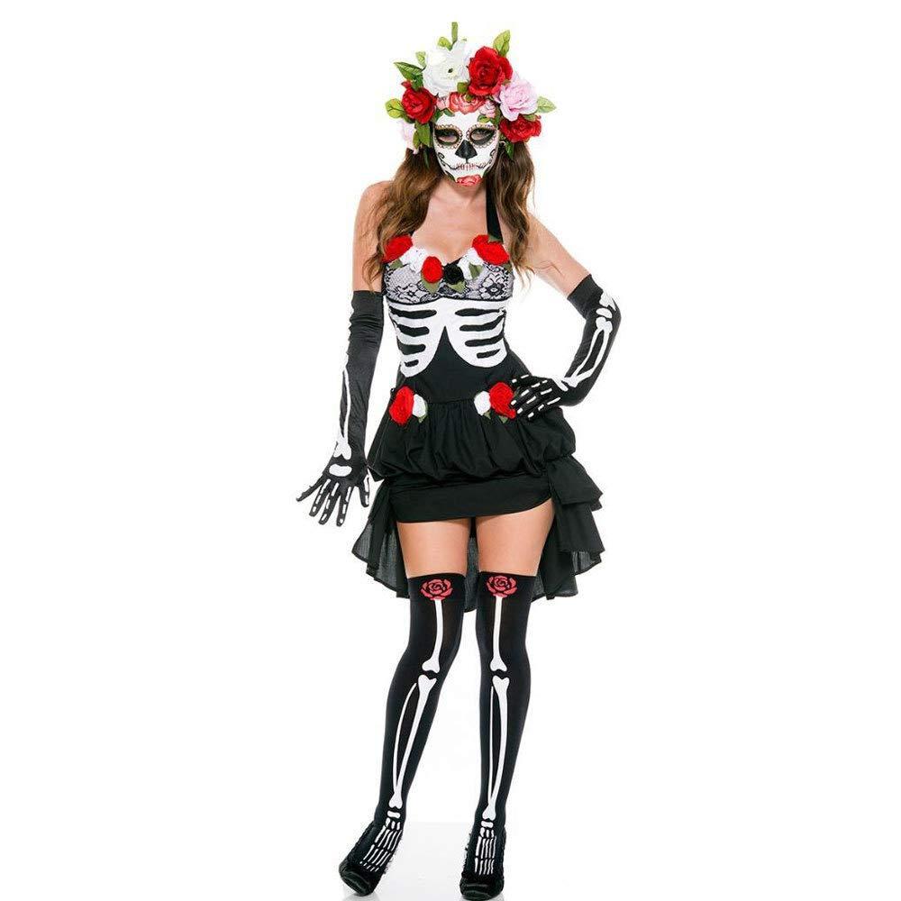 Ambiguity Halloween Damen kostüm Queen Sie-Outfit Ghost Bride Vampir Dämon Kostüm Halloween-Kostüm