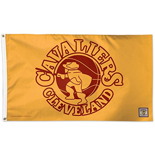 Wincraft NBA Cleveland Cavaliers 02384115 Deluxe Flag, 3' x 5' ()