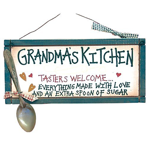Grandma's Kitchen Sign - Everything Made with Love