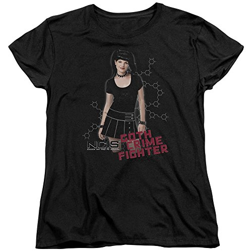 Ncis Cbs Tv Show Goth Crime Fighter Pose Women'S T Shirt Tee