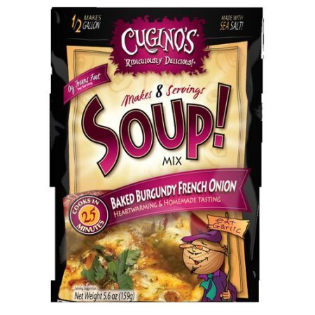Cugino's Baked Burgundy French Onion Soup Mix, 5.6 oz (Pack of - Soup Cuginos French Onion