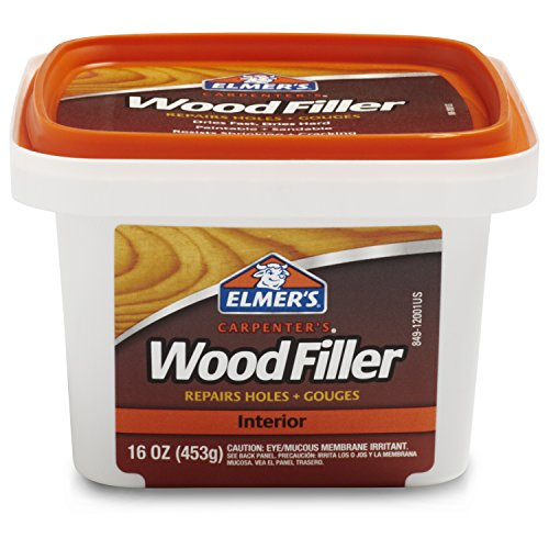 Carpenter's Wood Filler, Interior Only, 16 Ounces, E849D8