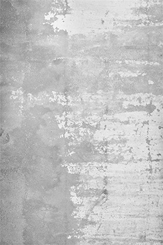 OFILA Grunge Concrete Wall Backdrop 3x5ft Plaster Wall Food Cake Products Background Wallpaper Blog Post Video Model Family Children Baby Kids Toddler Photos Digital Studio Shoots Props