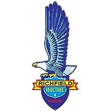 Richfield Hi Octane Gasoline Laser Cut Out Reproduction Sign 10x24.