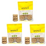 Emmy's Macaroons, 2 Ounce (Pack of 3) (Lemon Ginger)