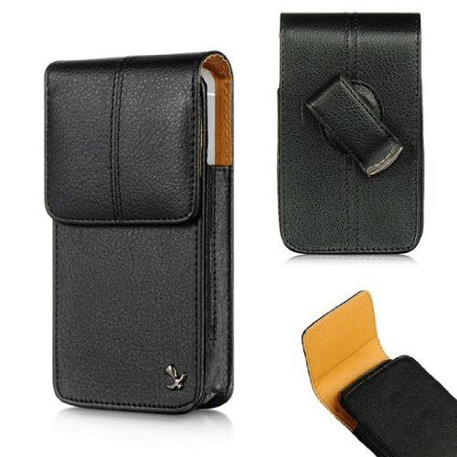 - For Apple iPhone SE 5S 5C 5 NAPA VERT LEATHER CASE PROTECTOR POUCH with SWIVEL BELT CLIP HOLSTER AD5 (By All_Instore)