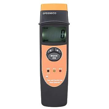 SPD200 Pantalla Digital Detector de monóxido de Carbono CO Medidor Probador Detectores de Fugas
